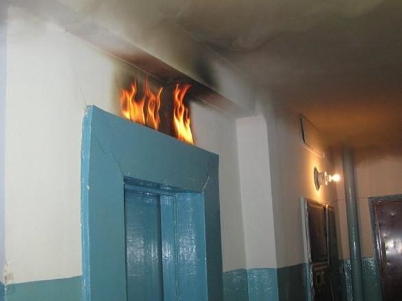 пожежа ліфт