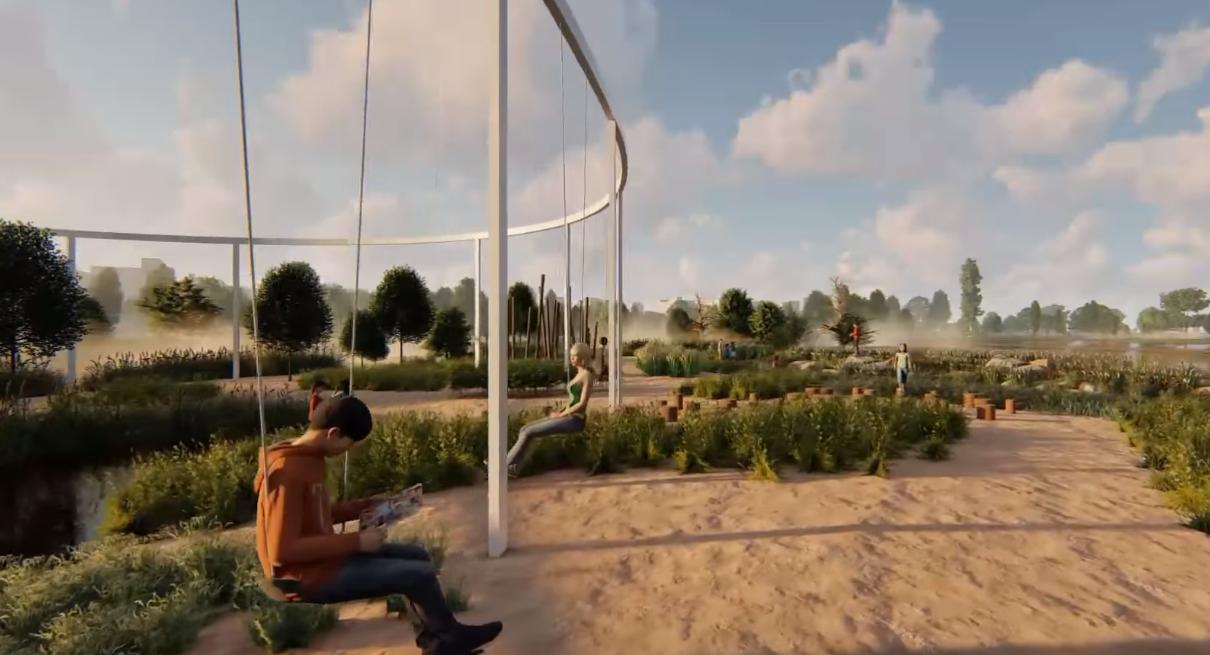 В екопарку на Осокорках може з'явитися публічний простір