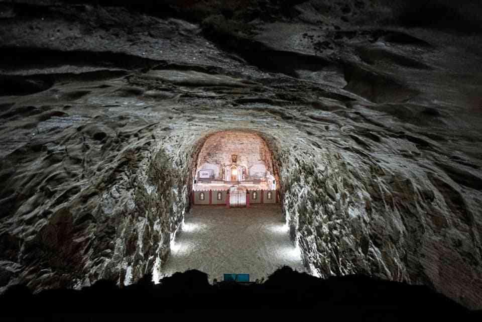 Церква у соляній шахті