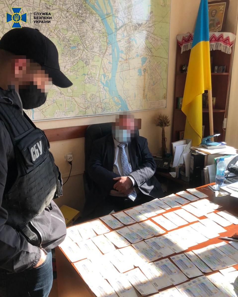 У Києві СБУ спіймала на хабарництві посадовця НАН України