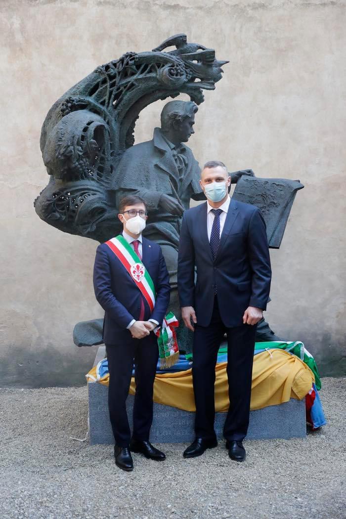 Кличко у Флоренції