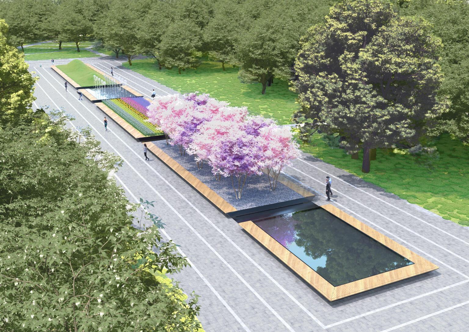 Проєкт перетворення Міського саду в Маріуполі