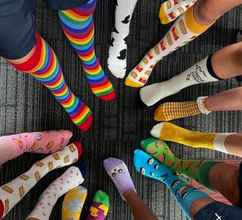 різні носки синдром дауна