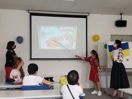 Українська школа в місті Нагоя