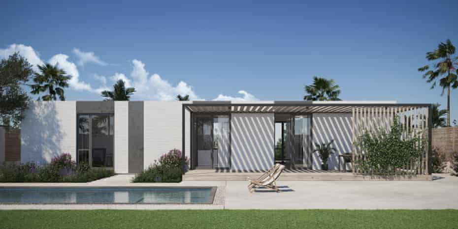 Екологічний будинок надрукований на 3D-принтері