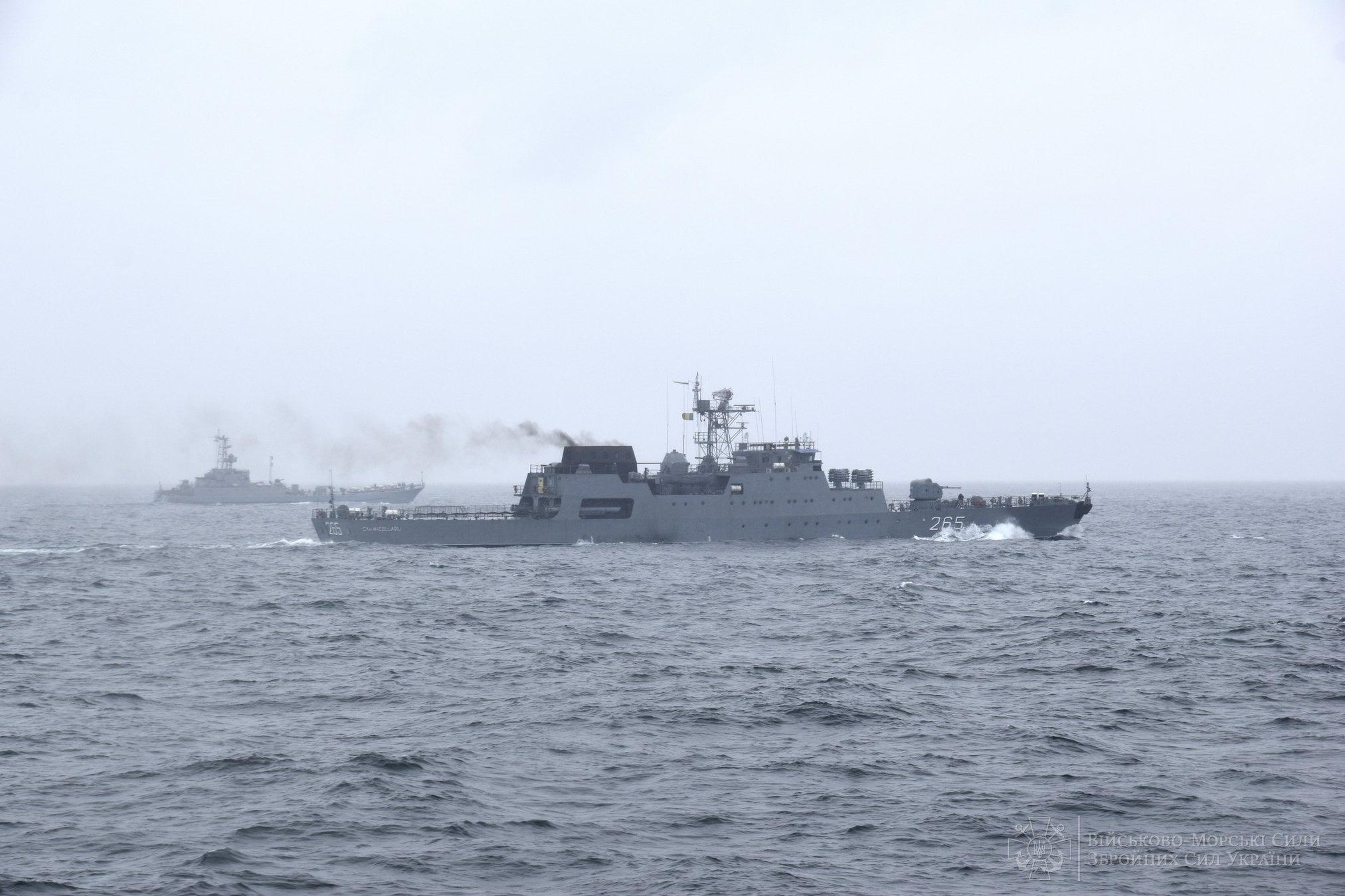 Кораблі України та Румунії провели спільні військові навчання в Чорному морі5