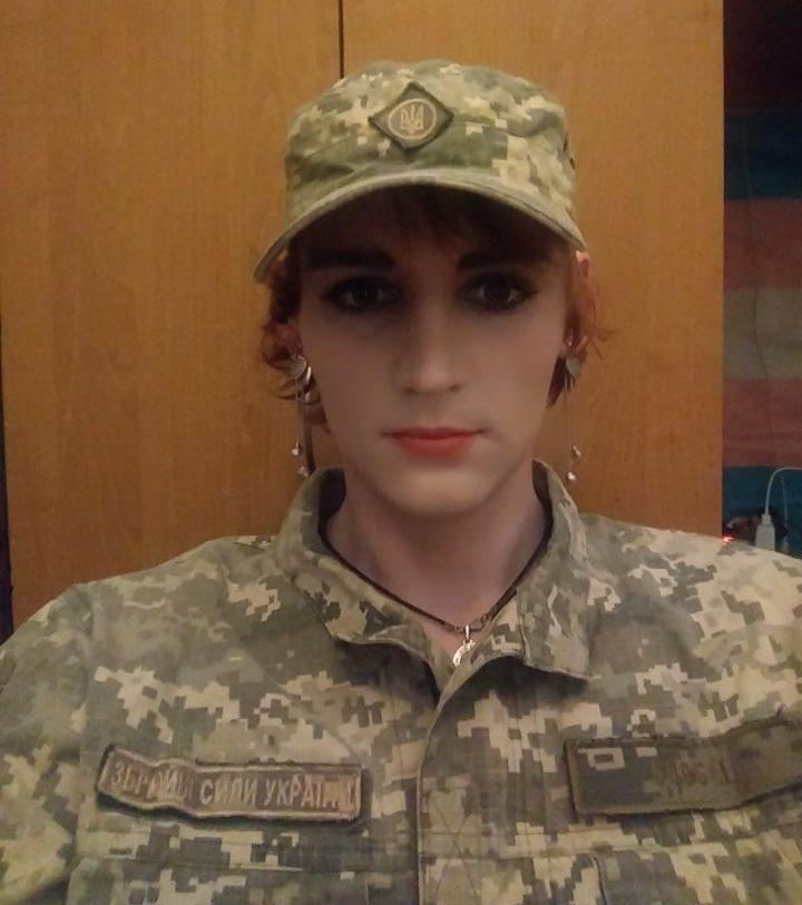 трансгендерна ветеранка Вікторія Дідух