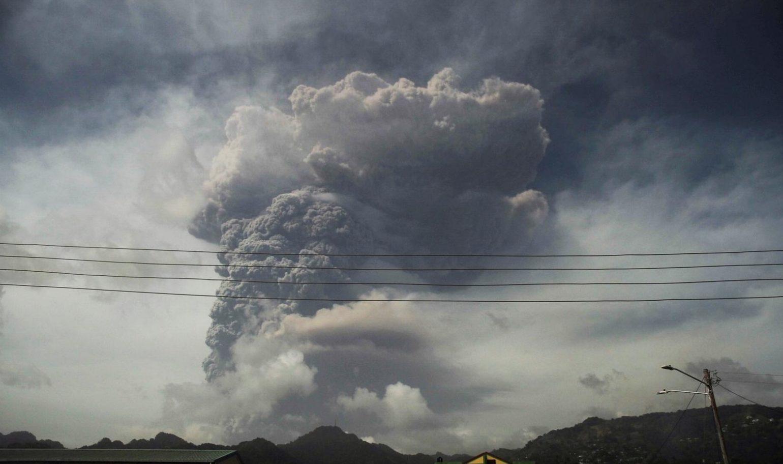 Виверження вулкану Ла-Суфрієр