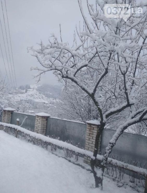 сніг у квітні