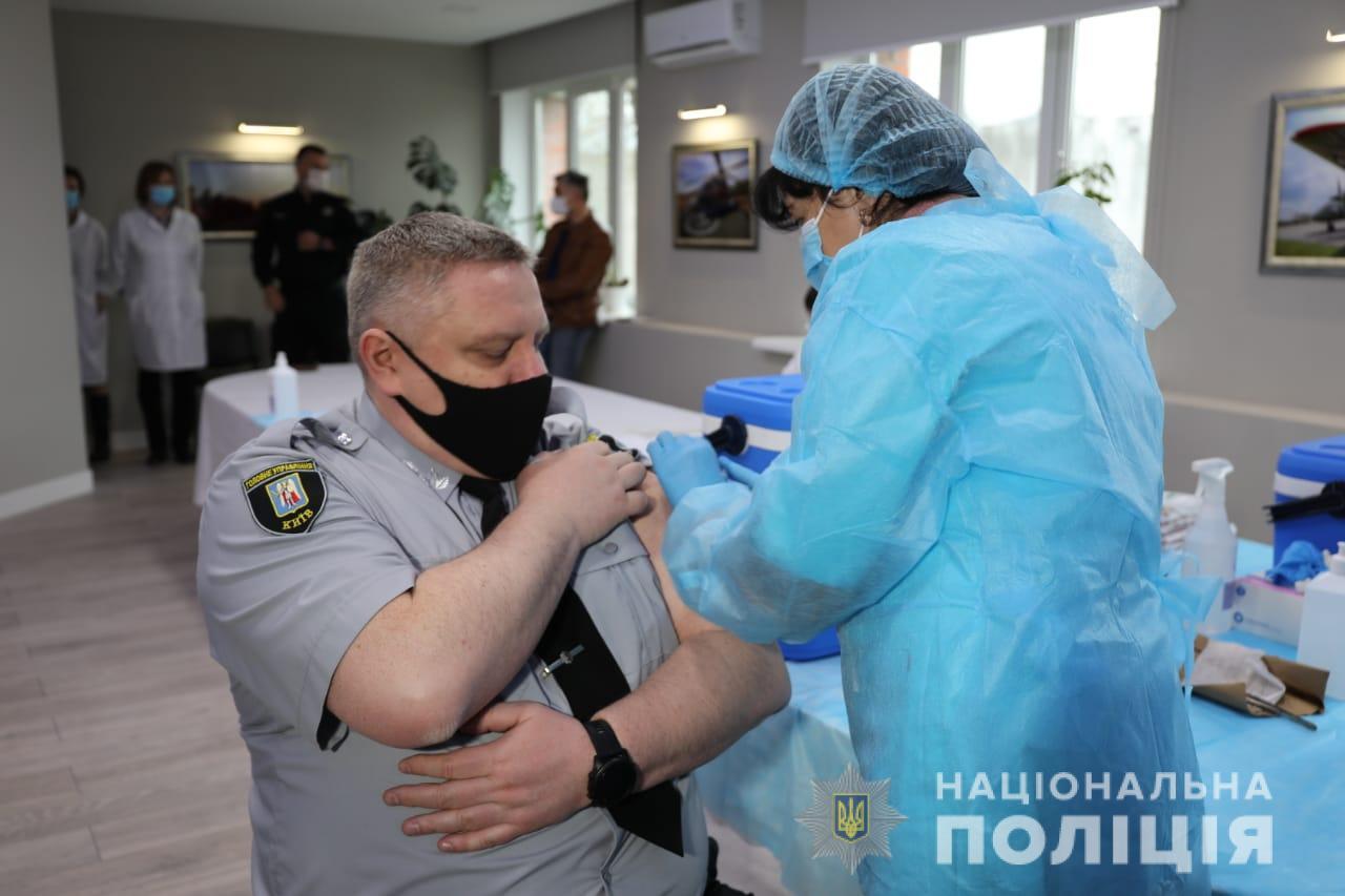 Вакцинація правоохоронців