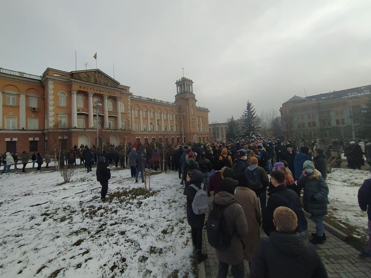 протест навальний росія мітинг