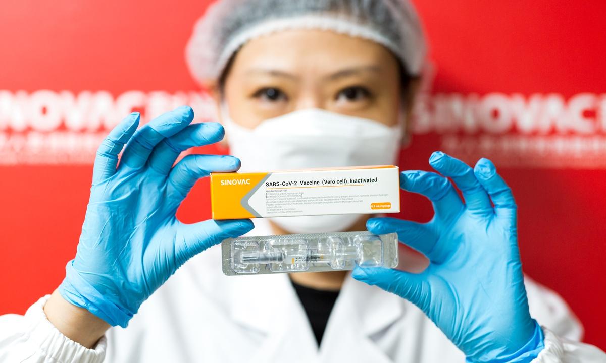 Китайская вакцина SinoVac