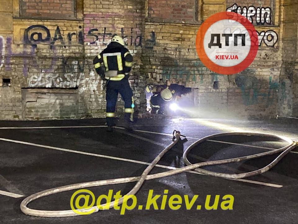 підпалили історичний будинок Сікорського в Києві