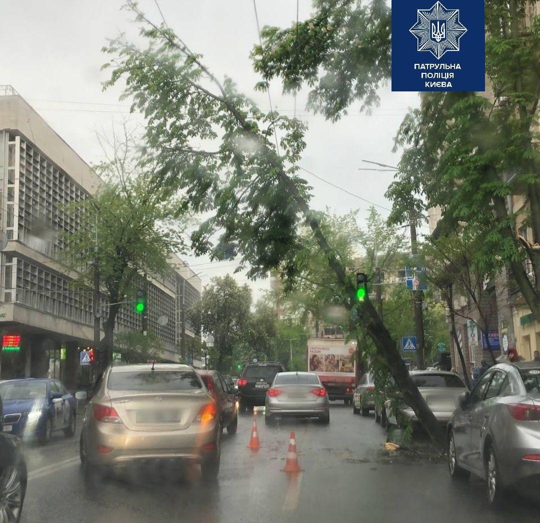 Київ затопило після дощу 1