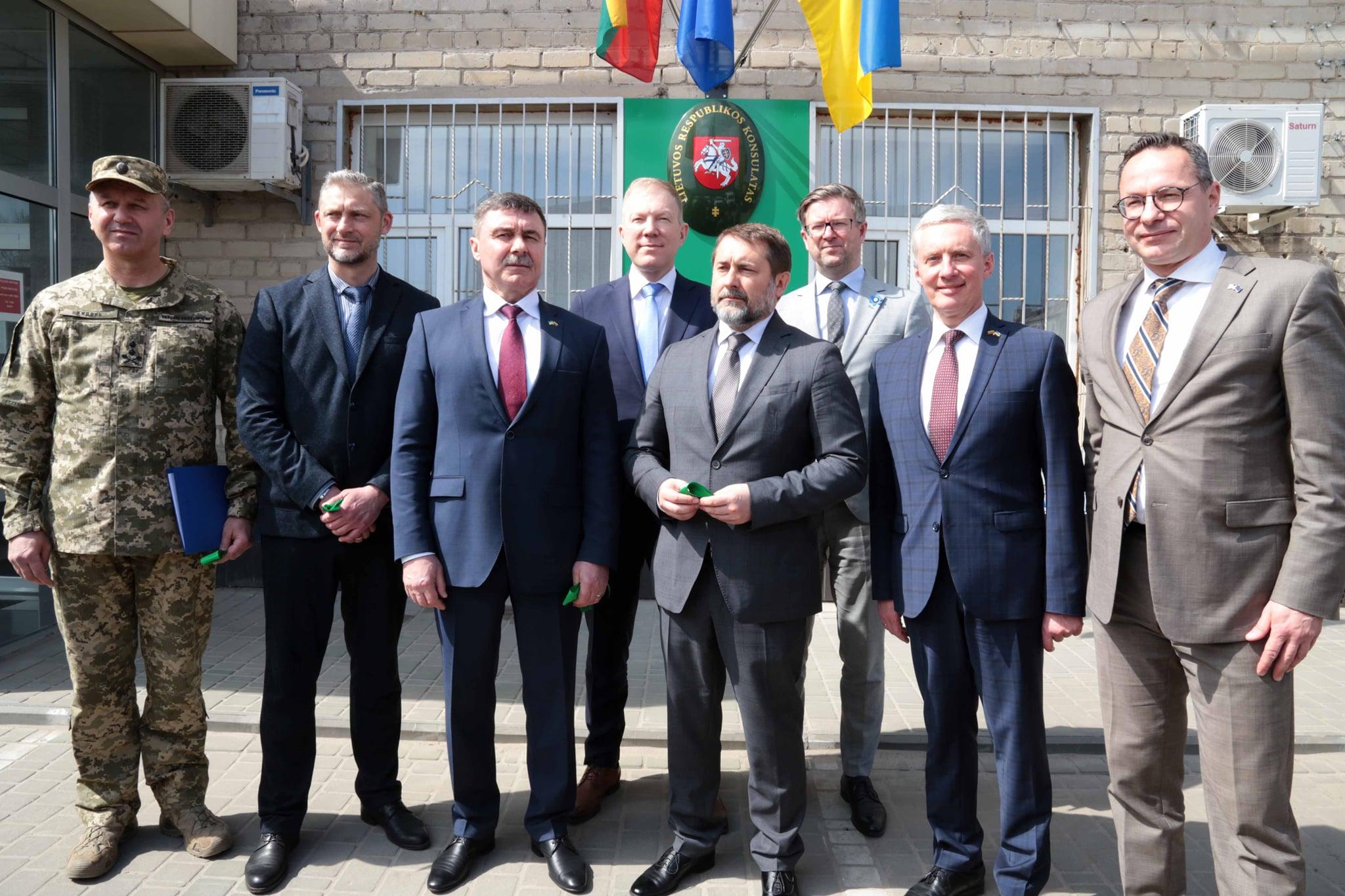 Сєвєродонецьк консульство Литви