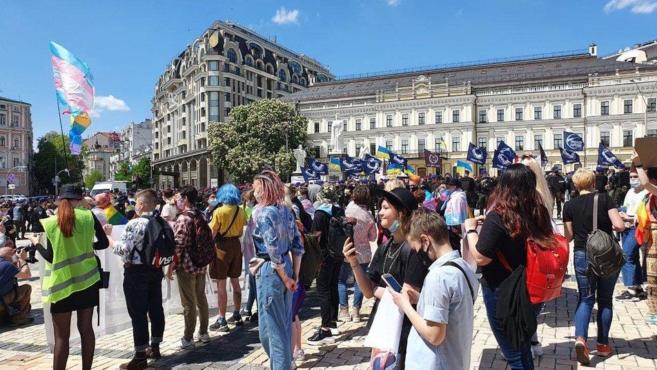 Транс-Марш у Києві 2021