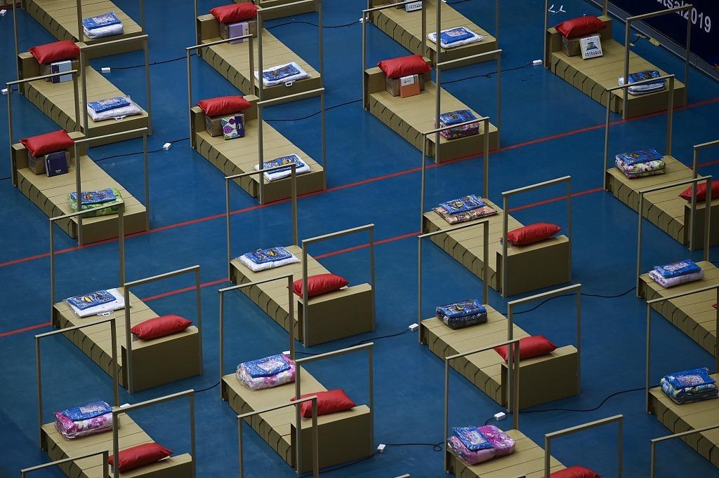 У Таїланді на спортивній арені госпіталь для COVID-хворих