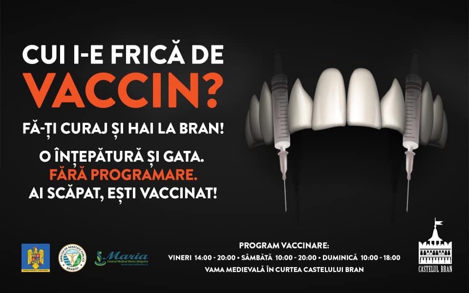У замку Дракули в Румунії облаштували центр вакцинації проти COVID-19