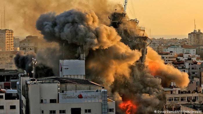 Израильский удар по сектору Газа