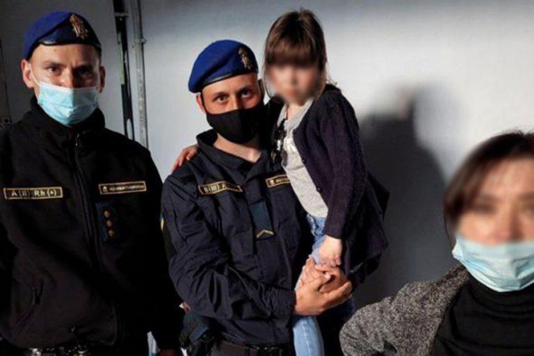 Знайдення загубленої дівчинки в Миколаєві