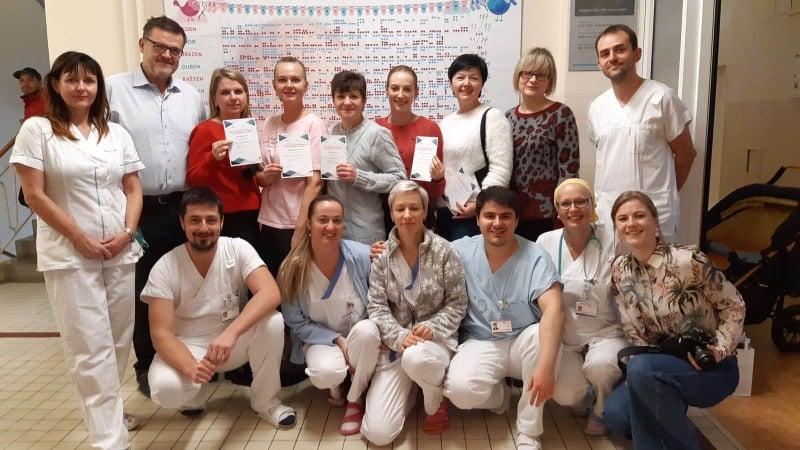Українські медики на стажуванні у Факультетській лікарні в м.Оломоуц, Чеська Республіка