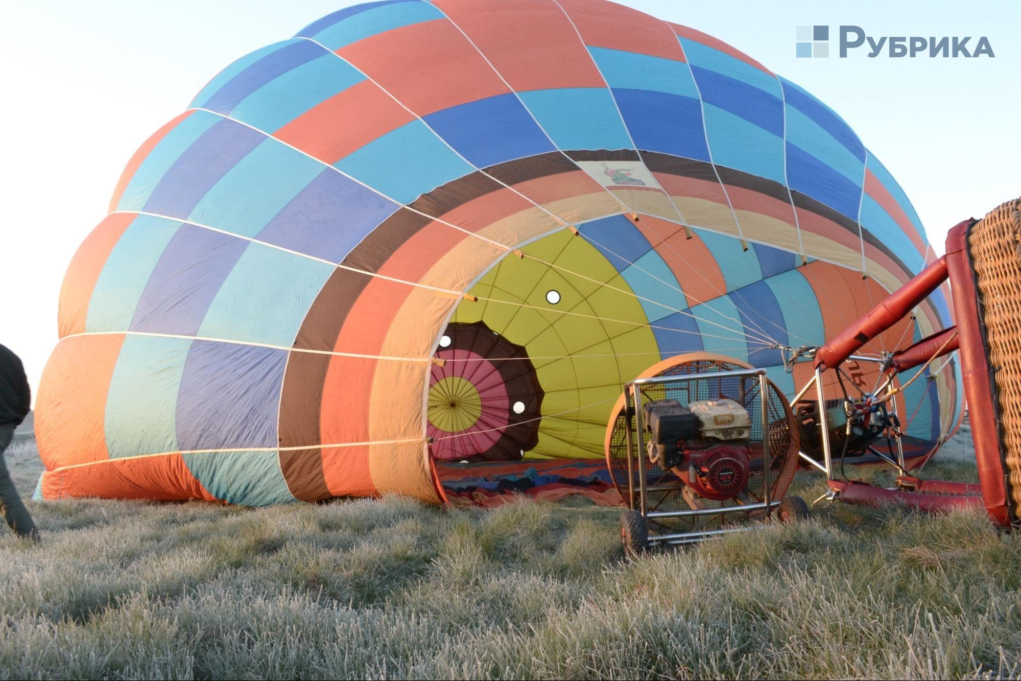 політ на повітряній кулі київ