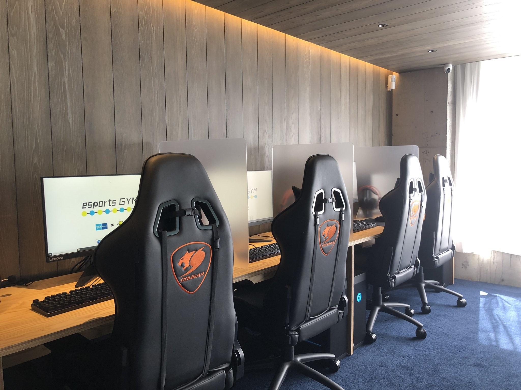 тренажерний зал для геймерів