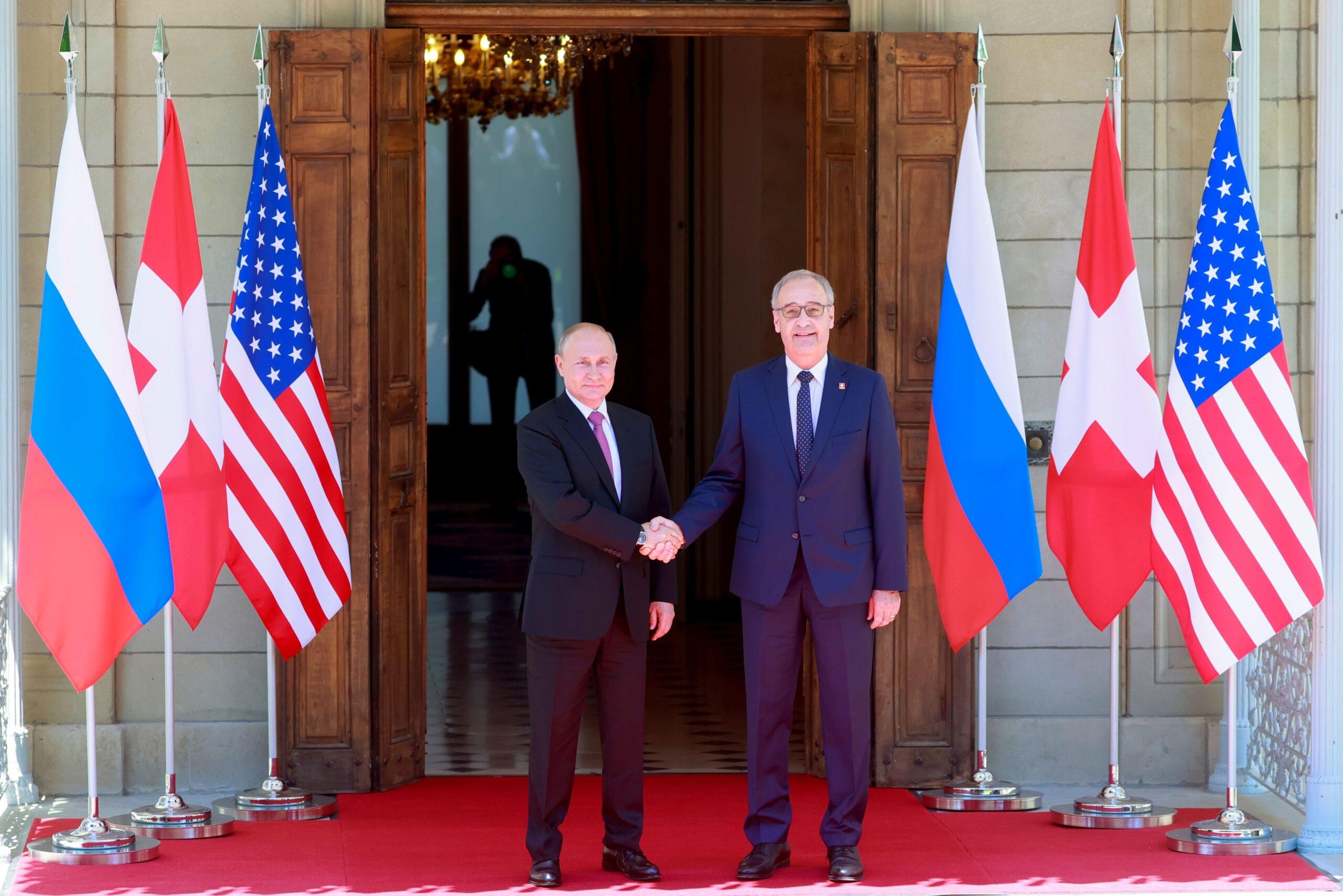 Байден зустрівся із Путіним у Женеві