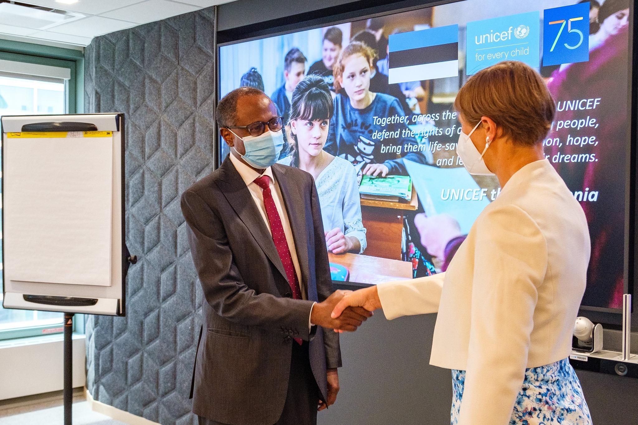 Генсек ООН призначив президента Естонії всесвітньою захисницею жінок і дітей