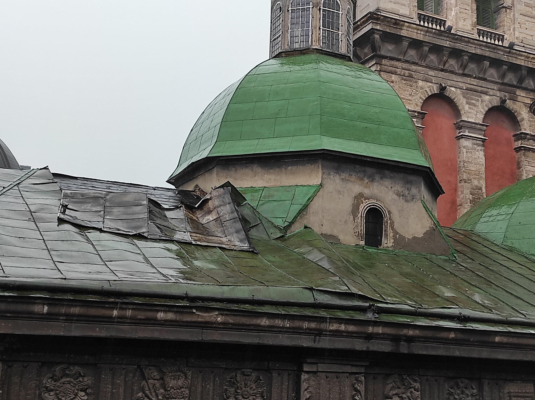 Львів після негоди