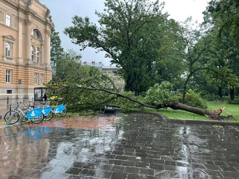 Негода у Львові