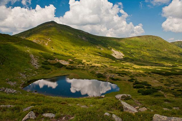 озера україни