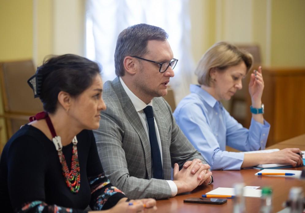Єрмак обговорив з високопосадовцями ЄС