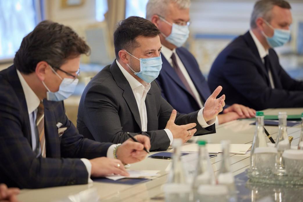 Зеленський зустрівся з головою МЗС Італії2