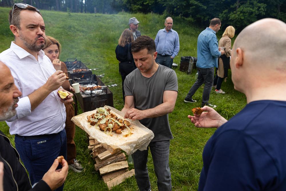зеленський пікнік день журналіста