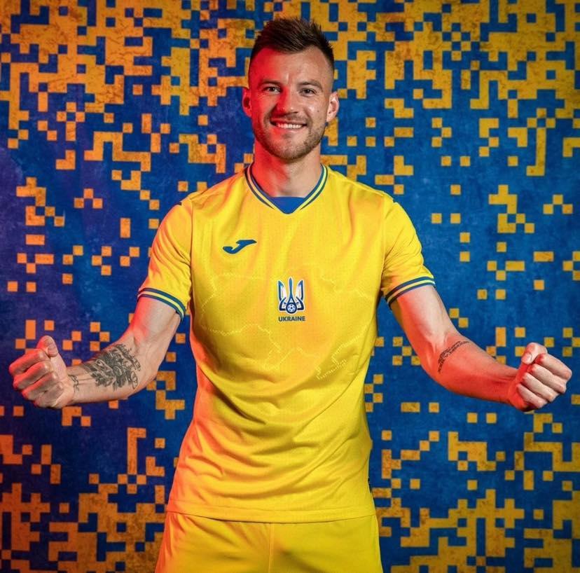 нова футбольна форма україни