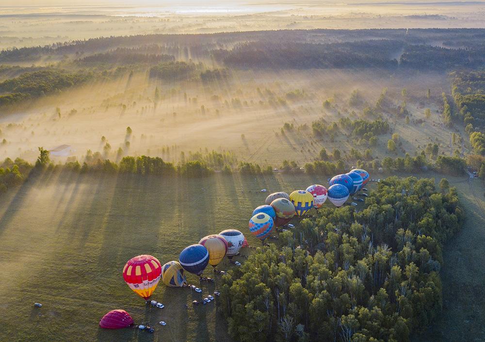 На вихідних під Києвом відбудеться фестиваль повітряних куль