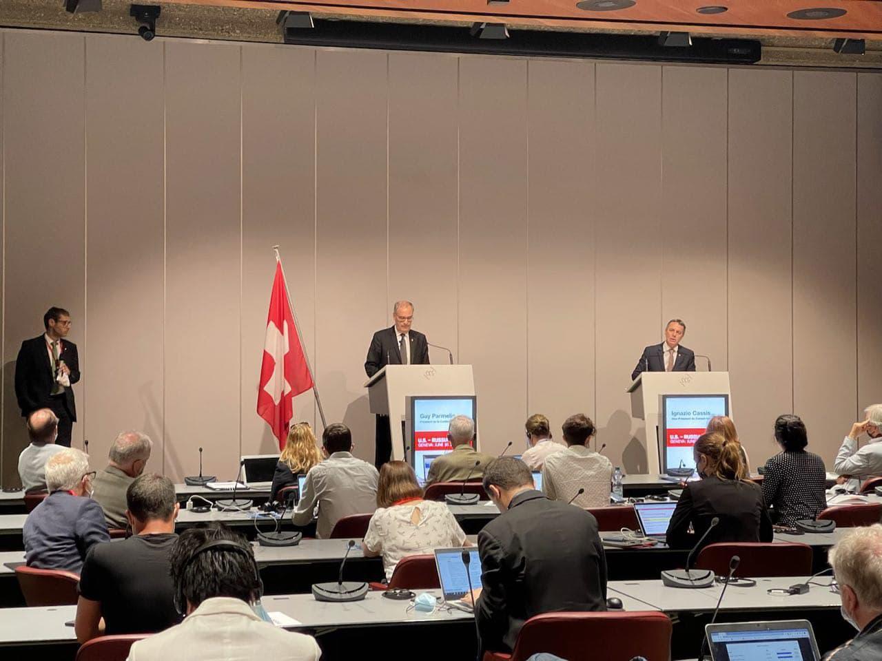 Саміт у Женеві: президент Швейцарії розповів про результати зустрічі з Байденом та згадав Україну