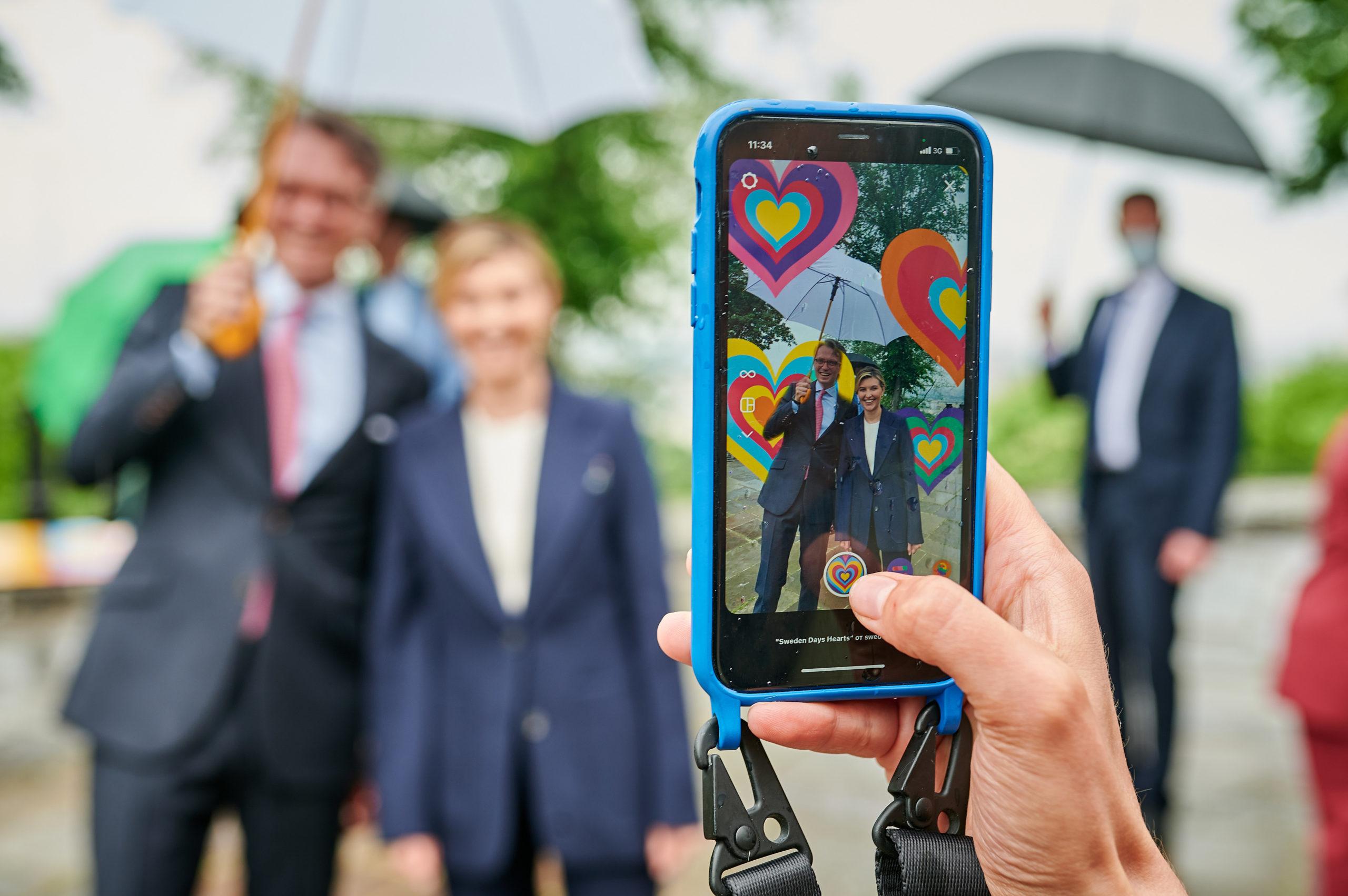У Києві з'явилася артзона, яка присвячена відносинам України та Швеції