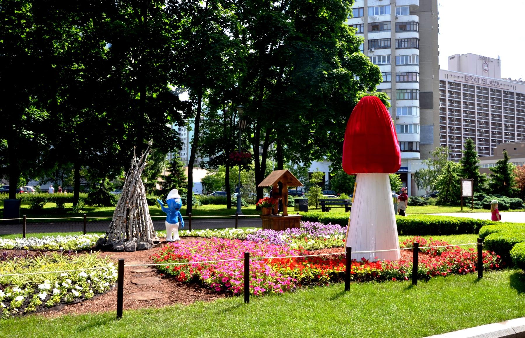 у Києві відкрилася виставка квітів