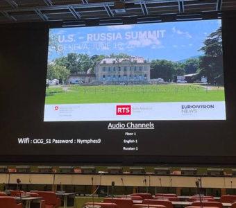 Geneva is preparing to host the Historic USA-Russian Federation Summit