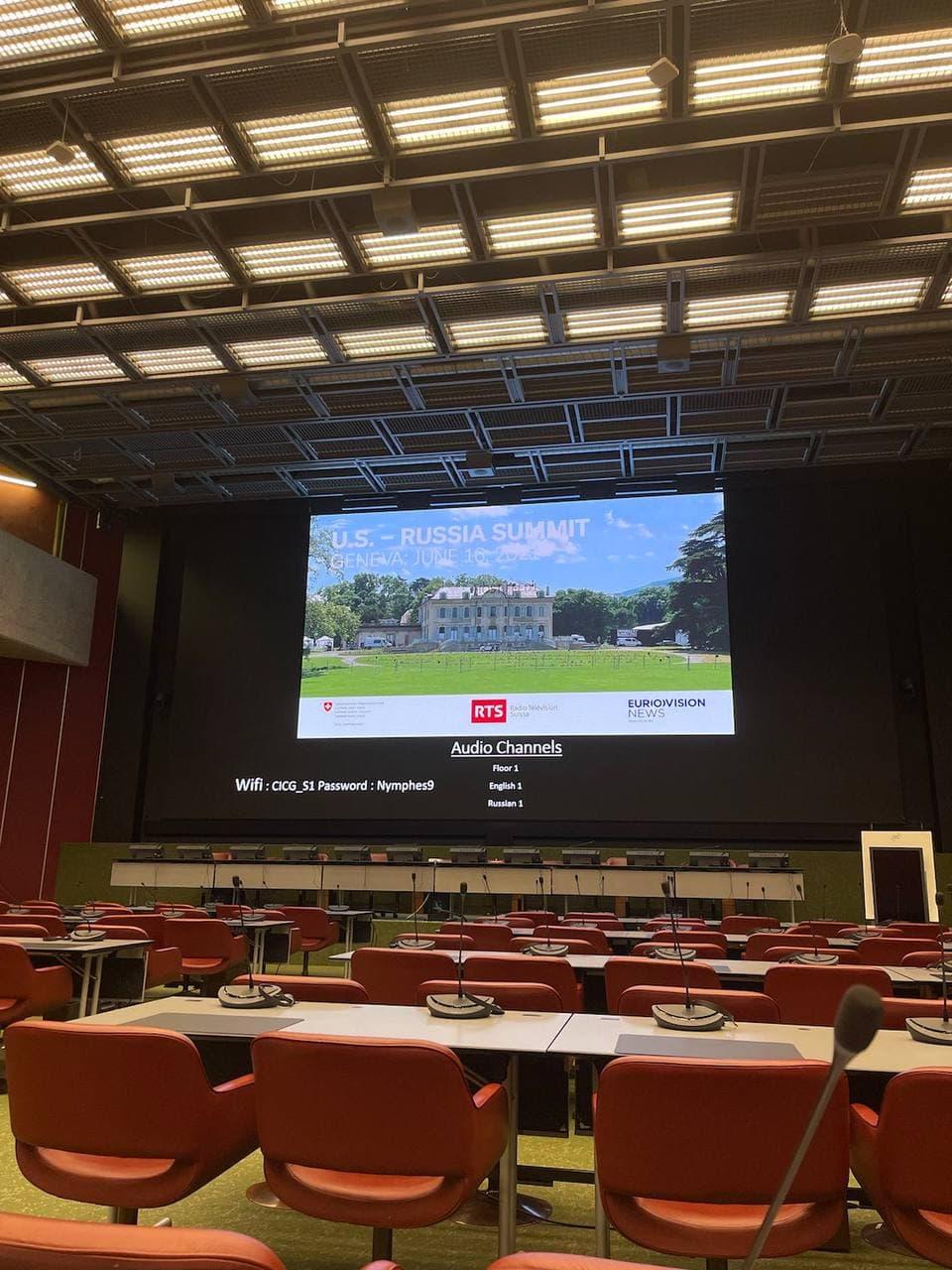 Женева готується прийняти Історичний Самміт США–Російська Федерація