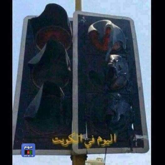 В Кувейте автомобили и светофоры начали плавиться от рекордной жары