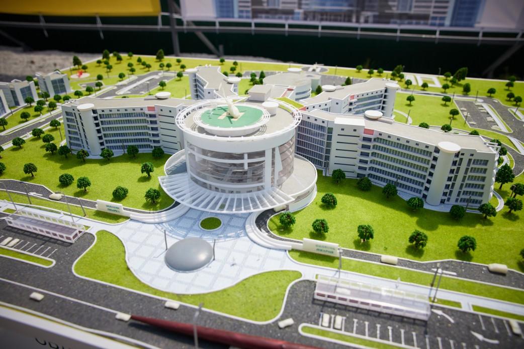Будівництво лікарні в Краматорську