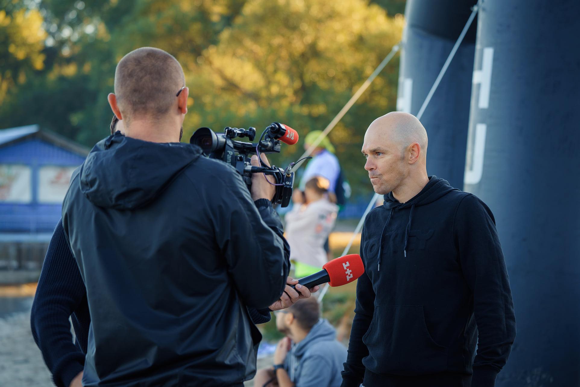 На вихідних в Україні пройдуть міжнародні змагання з екстремального триатлону KYIVMAN