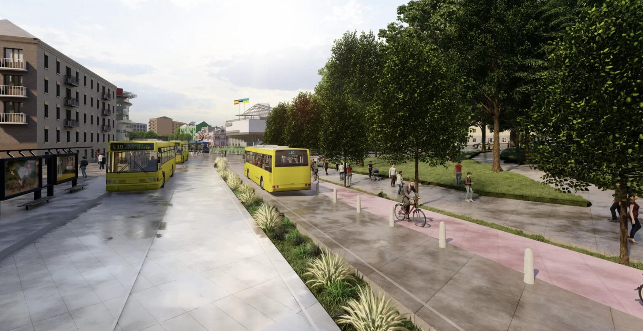 Київські урбаністи показали, як можна було б реконструювати Лук'янівську площу