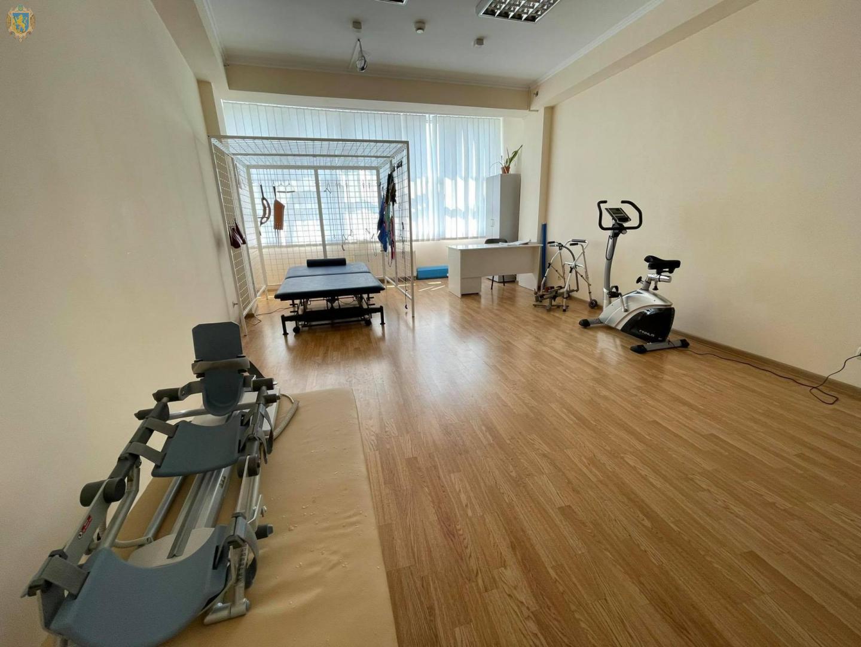 На Львівщині реабілітаційний комплексний центр для осіб з інвалідністю