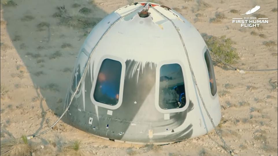 Політ Безоса в космос
