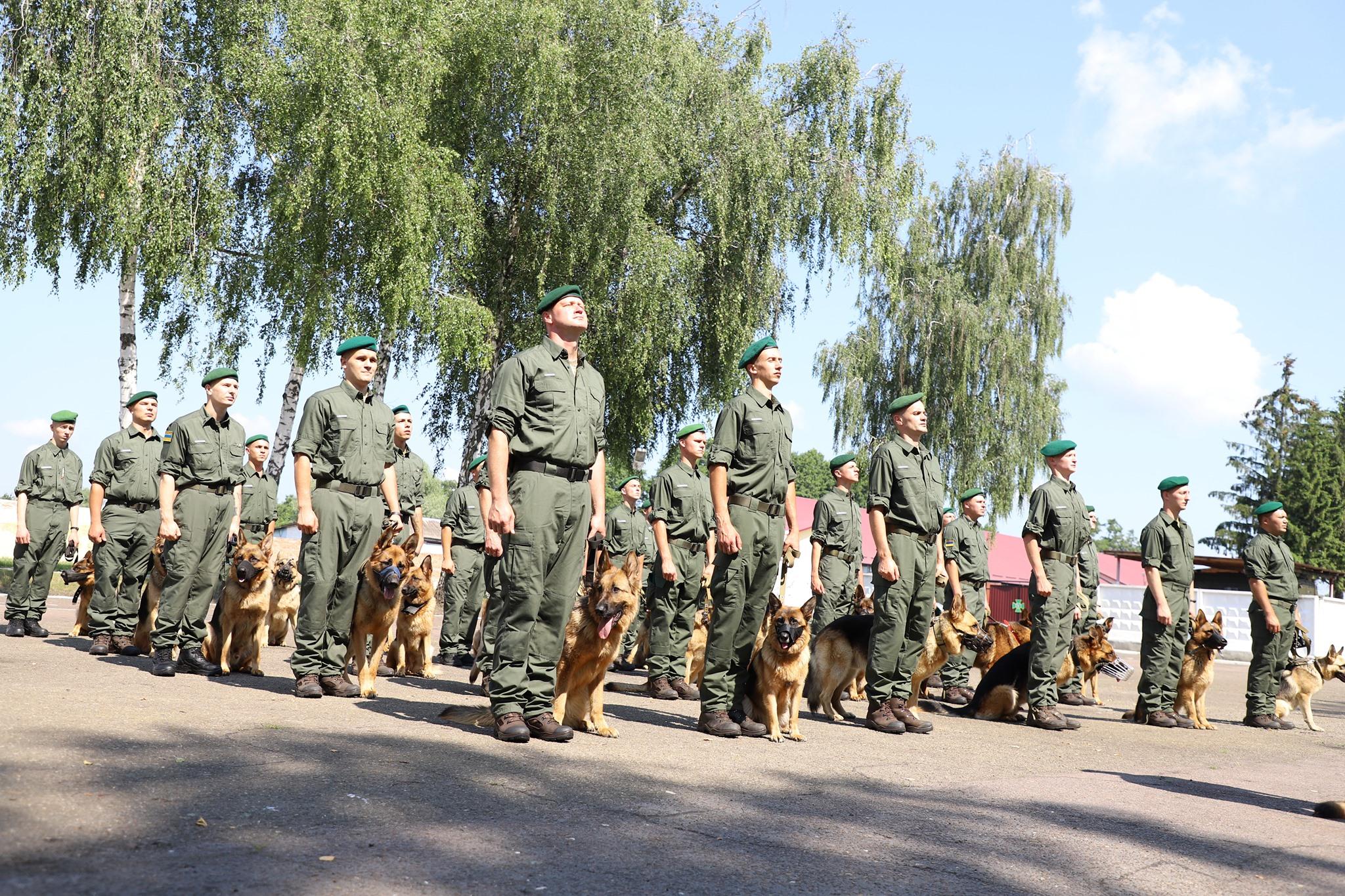 Собаки прикордонників вперше стануть учасниками параду до 30-річчя Незалежності України