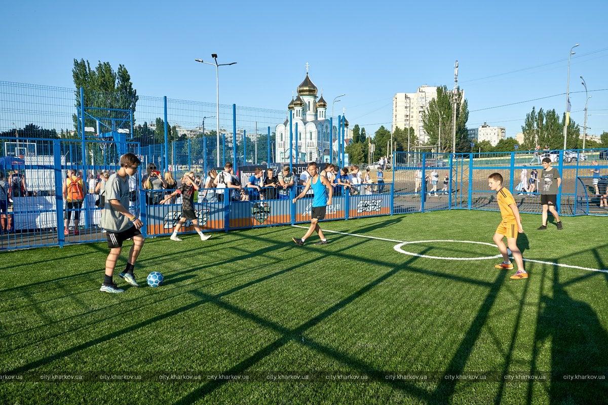 У Харкові відкрили найбільший в Україні урбан-парк